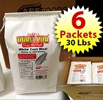 Ugali Poa 30 Lbs (White Corn Meal) - 6 Packets (each 5 Lbs)