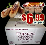 PORK 18 Packs - Paddy's Farmers Choice Sausages