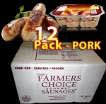 PORK 12 Packs - Paddy's Farmers Choice Sausages