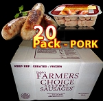 PORK 20 Packs - Paddy's Farmers Choice  Sausages