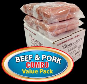 COMBO BEEF & PORK Value Pack - Paddy's Farmers Choice Sausages