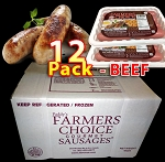 BEEF 12 Packs - Paddy's Farmers Choice Sausages