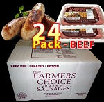 BEEF 24 Packs - Paddy's Farmers Choice Sausages