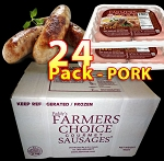 PORK 24 Packs - Paddy's Farmers Choice Sausages