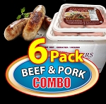 6 Pack COMBO - Paddy's Farmers Choice Sausages