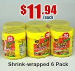 6 Pack - CURRY POWDER Spice Seasoning