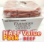 BEEF Half Value Pack - Paddy's Farmers Choice Sausages