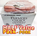 PORK Half Value Pack - Paddy's Farmers Choice Sausages