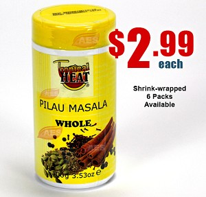 PILAU MASALA WHOLE - Spice Seasoning