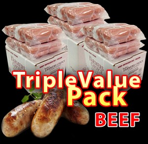 BEEF Triple Value Pack